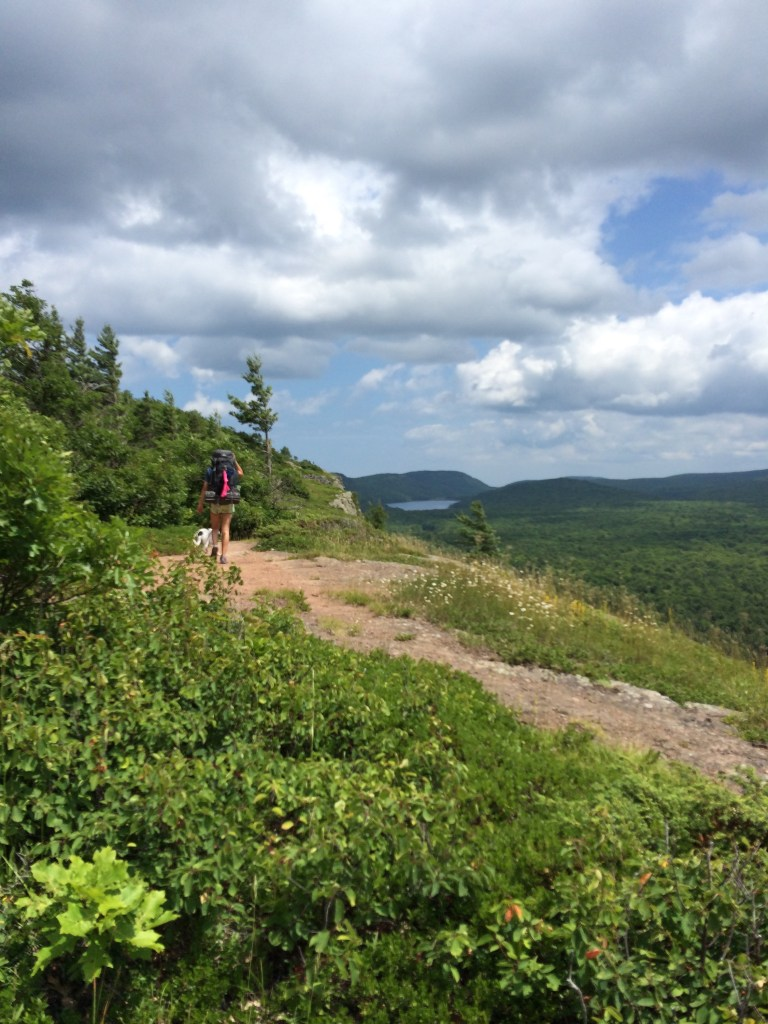 Backpacking Porcupine Mountains- Big Carp River Trail