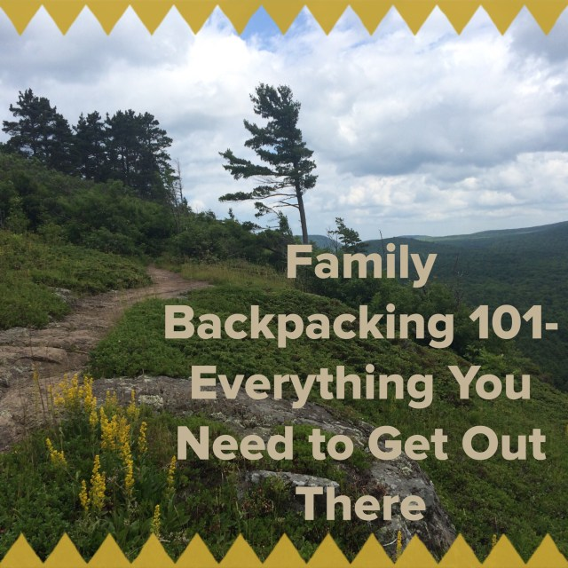 Family Backpacking 101