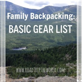 Family Backpacking Gear List