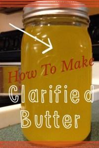 Homemade Clarified Butter