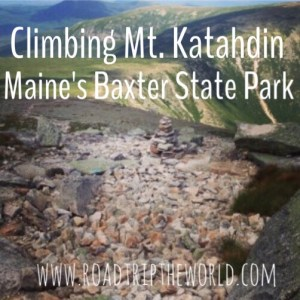 Climbing Mt Katahdin