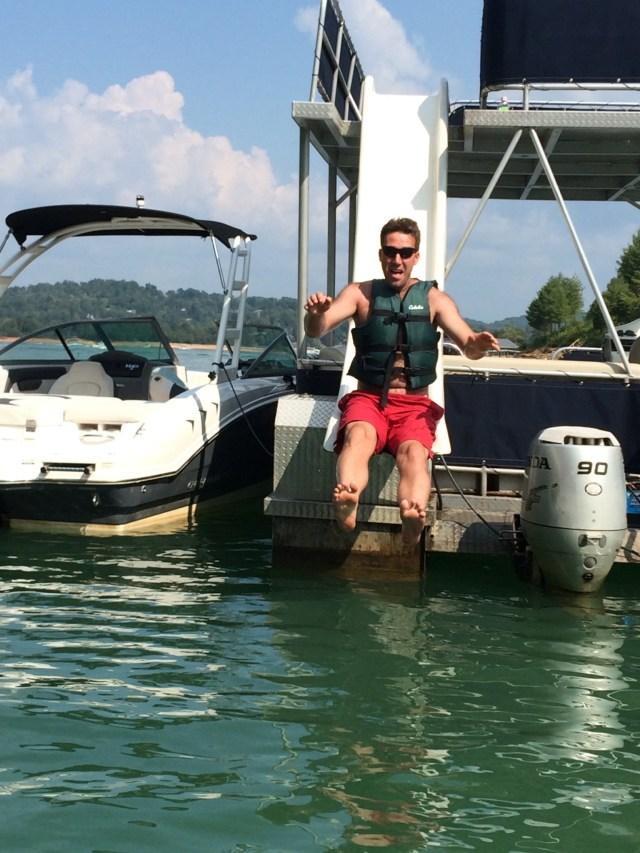 Party Pontoon Norris Lake, Tennessee