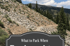 Backpacking Gear List - What to Pack When Backpacking