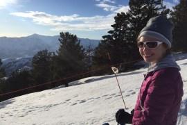 Skiing Powder Mountain Utah