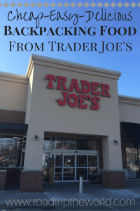 Trader Joe's Backpacking Food