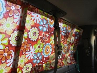 Making Camper Van Curtains