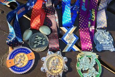 Dopey Challenge Medals 2017