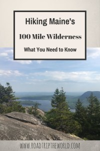 100 Mile Wilderness