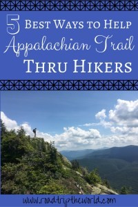 Easy Ways to Help Appalachian Trail Thru Hikers