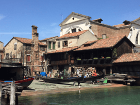 Squero--gondola maker shop