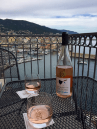 Terrace Wine Bastia Harbor