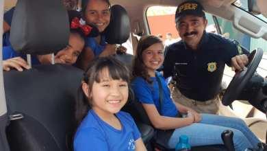 PRF realiza ações educativas em escolas municipais de Ji-Paraná