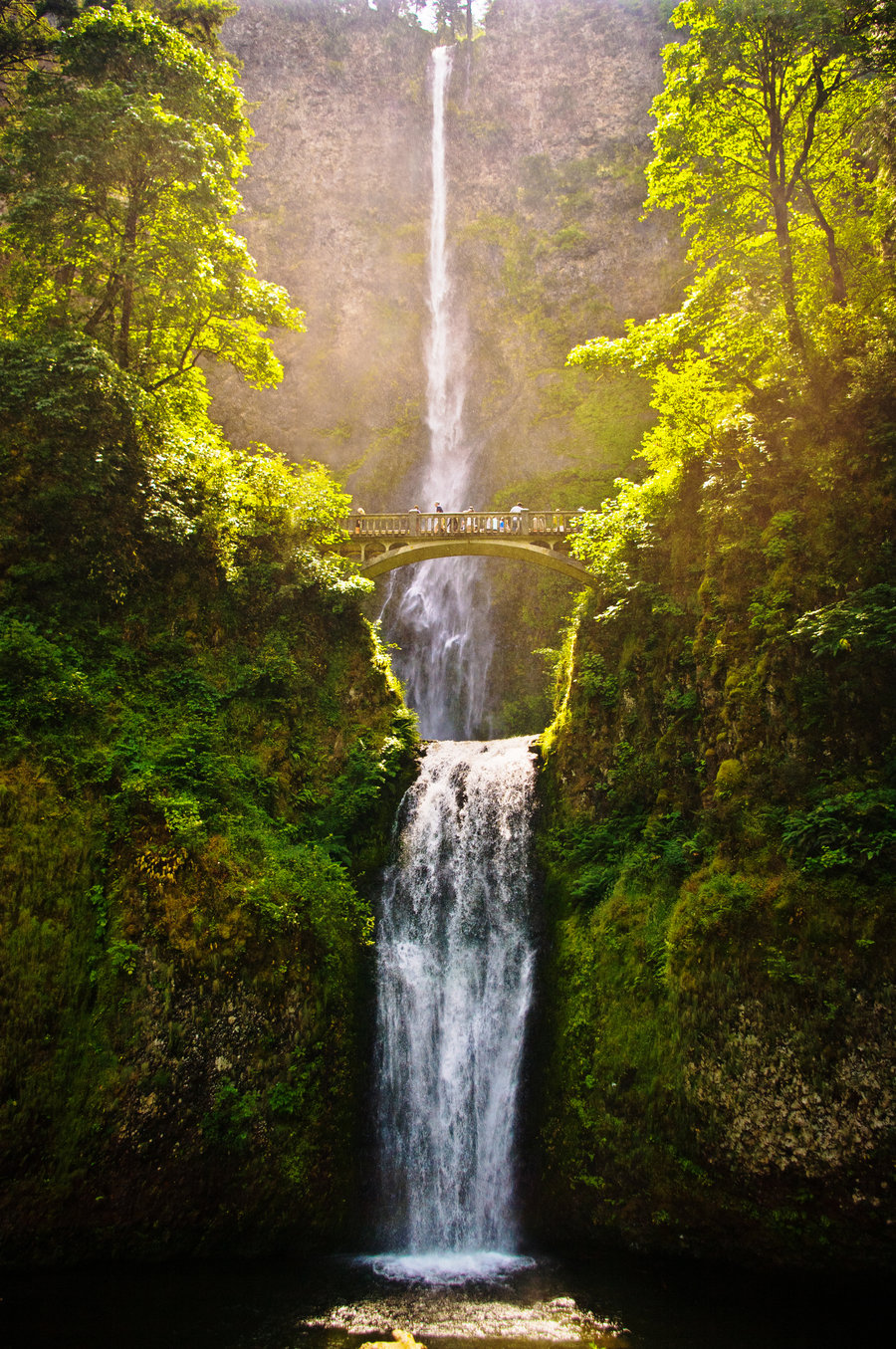 Multnomah Falls Oregon Wallpaper Here We Go Roalt2013