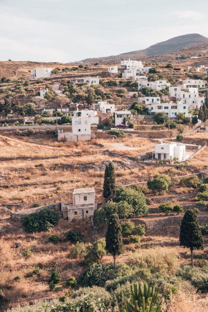 Road to Lefkes, Paros Greece