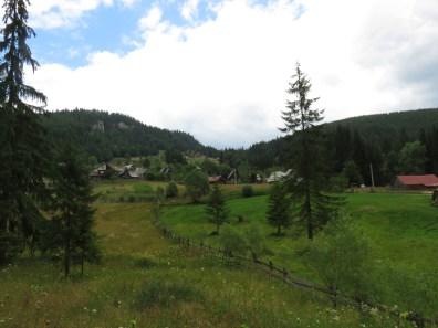 Casa de Piatra village