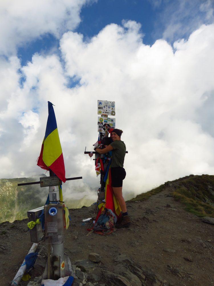 On top of the world! Moldoveanu Peak, 2544m (2)
