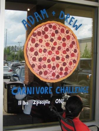 Big Pie in the Sky on Man vs. Food