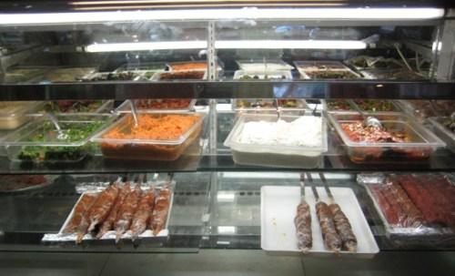 Display Case at Cafe Agora