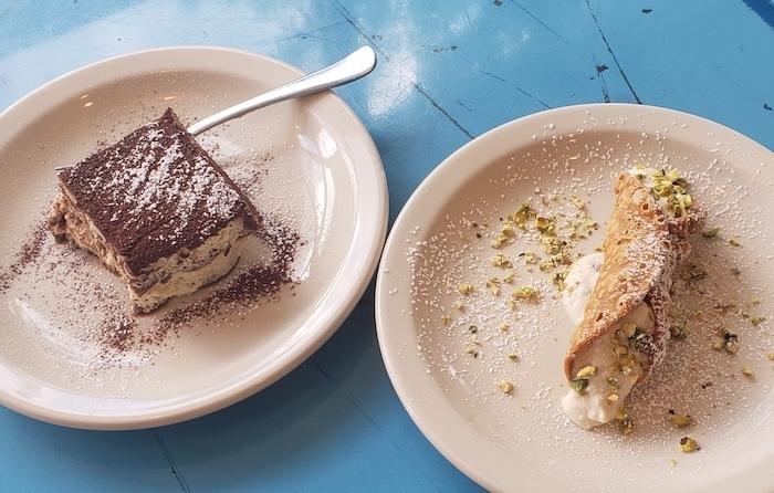 italian desserts tiramisu cannoli atlanta