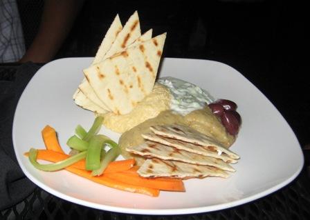 The Nook Hummus Platter