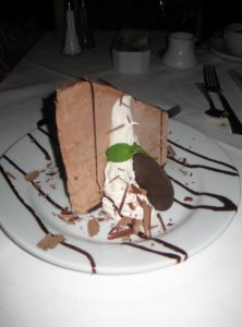 Ruth\'s Chris Chocolate Mousse Cheesecake