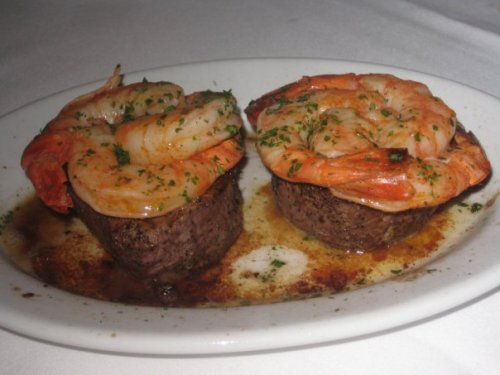 Ruth\'s Chris Tournedos - Filets and Shrimp