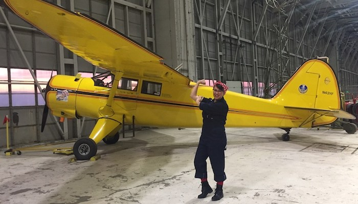 ride historic plane