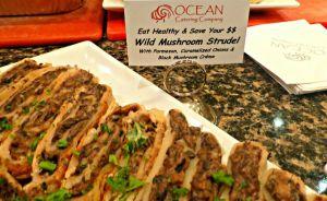 wild mushroom tart oceans catering company