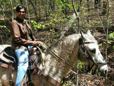 brasstown valley horseback ride
