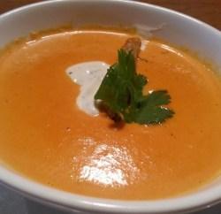 FLIP burger tomato soup