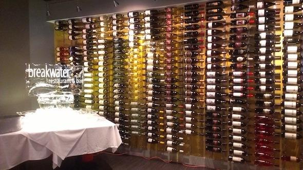 Euphoria Wine pairing dinner Breakwater