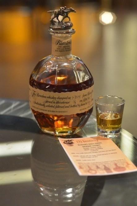 Blanton's whiskey bourbon bottle