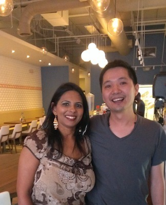 Me with Gary Lin of Chow Bing