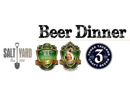 ale sharpton beer dinner