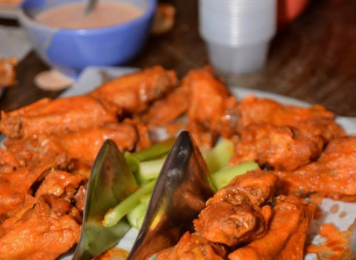 Super Bowl Party Wings recipe