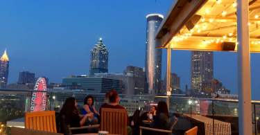 Sky Lounge atlanta downtown rooftop bar