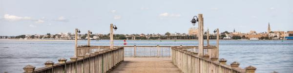 View from the Harborside Resort & Marina