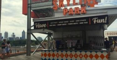 Skyline park at Ponce City Market
