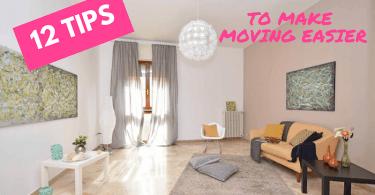 12 tips to make moving easier