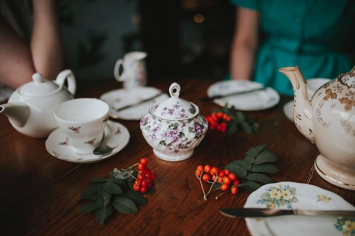perfect tea party planning