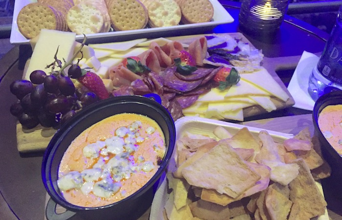 food at the roxy theatre atlanta VIP