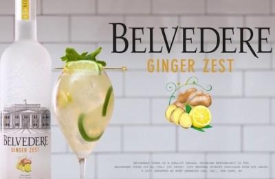 belvedere vodka ginger zest