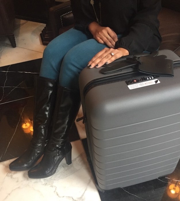 away travel luggage review