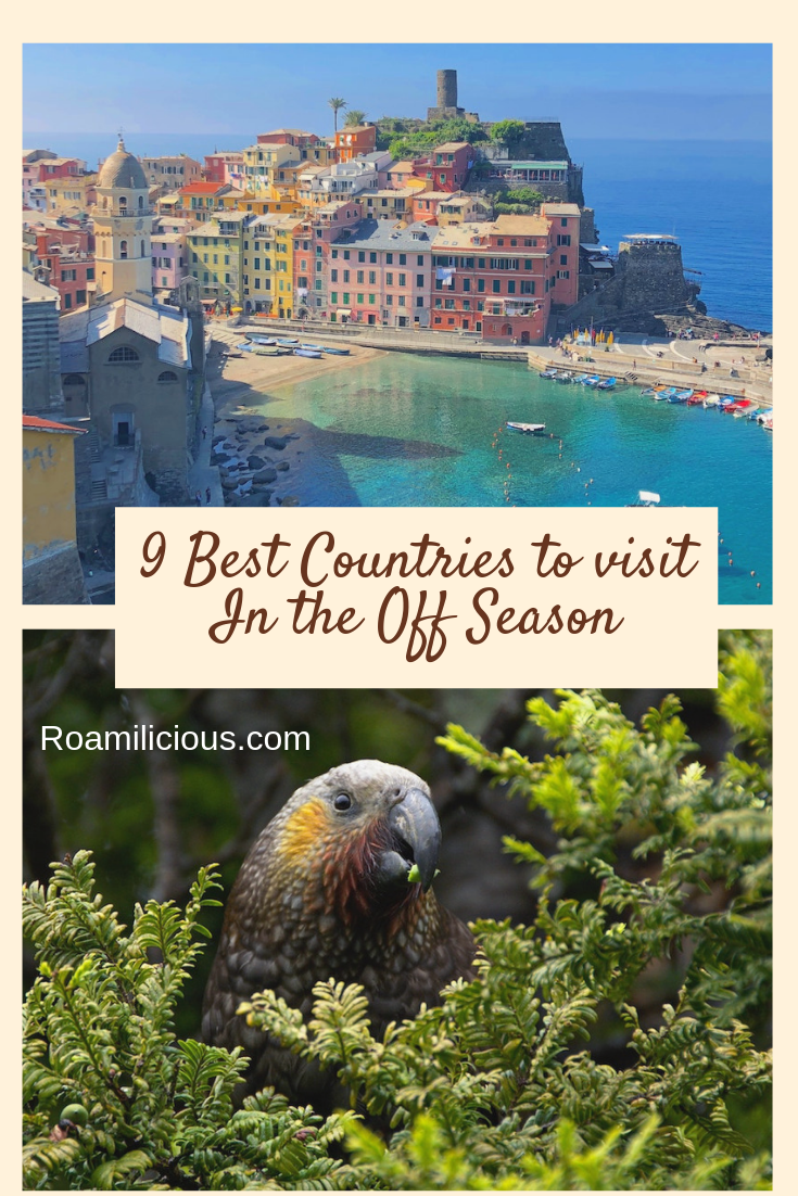 Best off season destinations