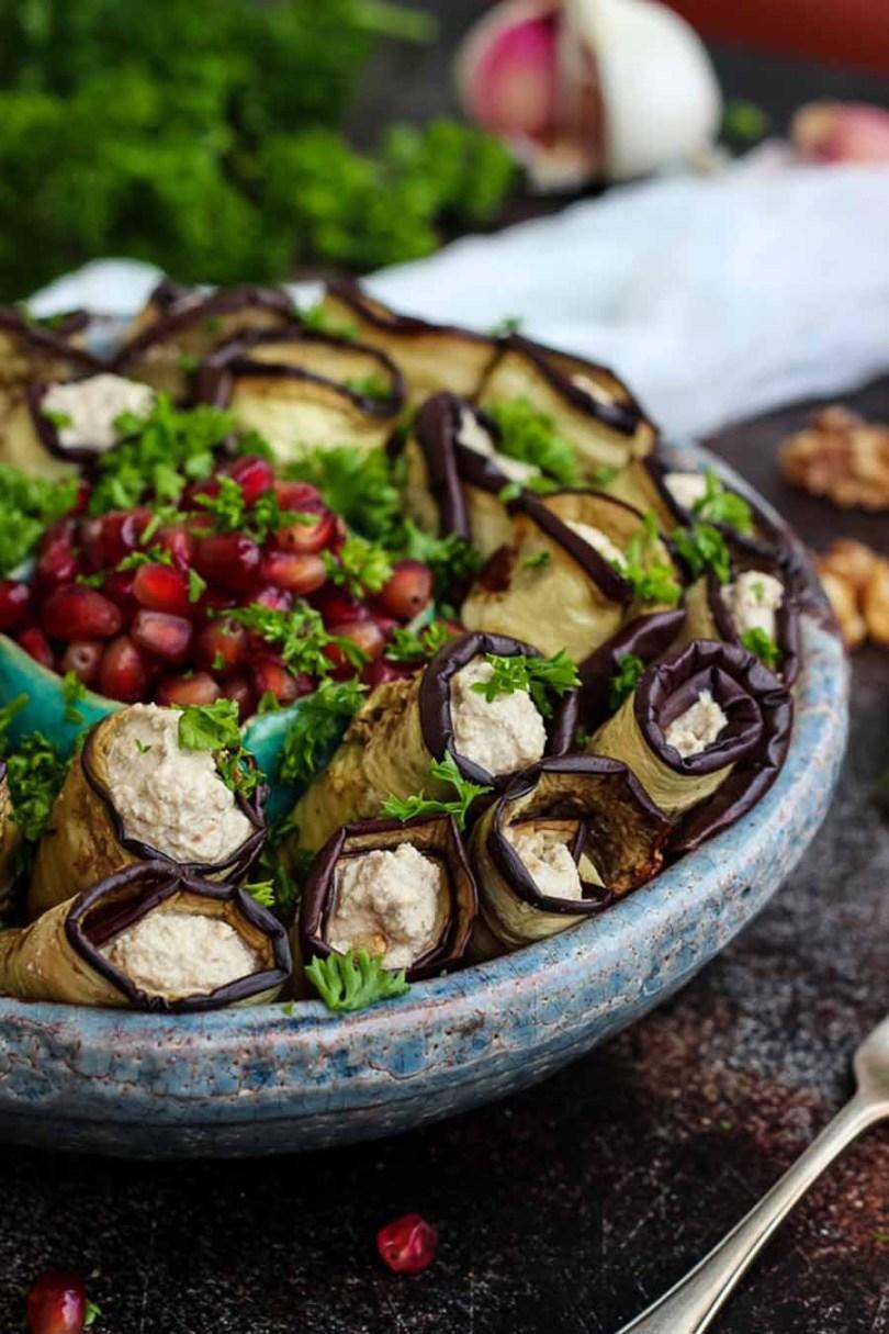 Georgian Eggplant Rolls Recipe