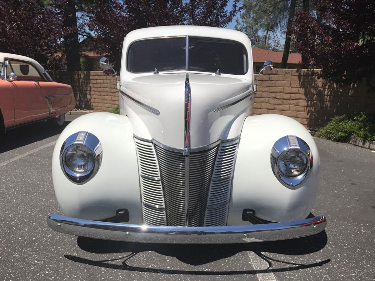 1940 Ford Coupe front-Dave & Barb G.