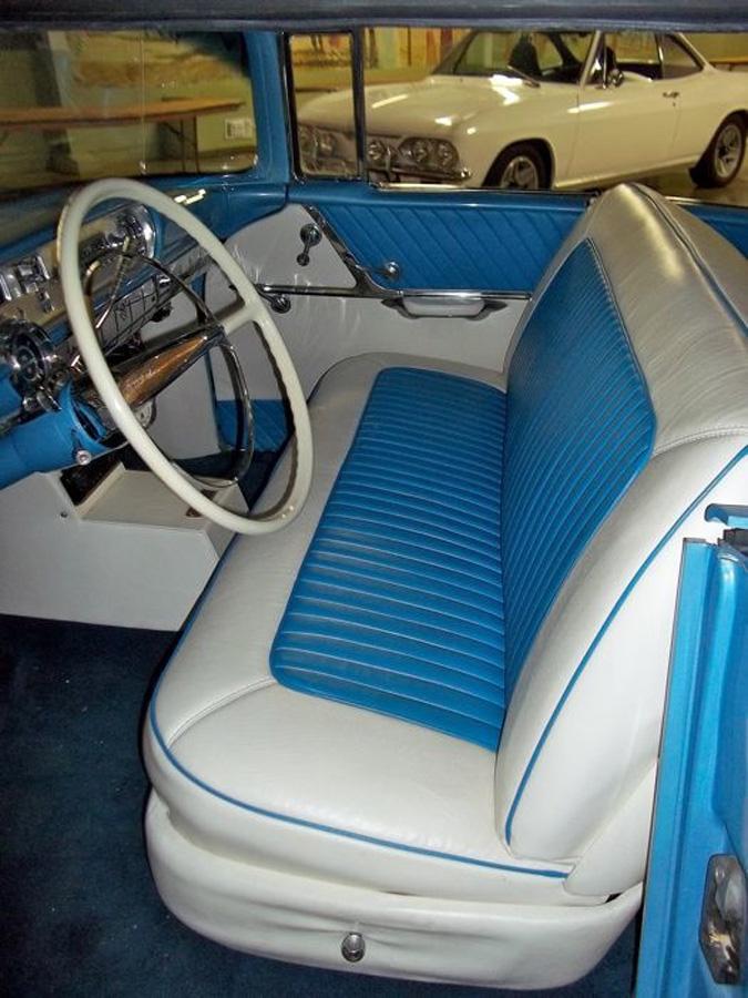 1957 Pontiac StarChief interior - Diane & David B.