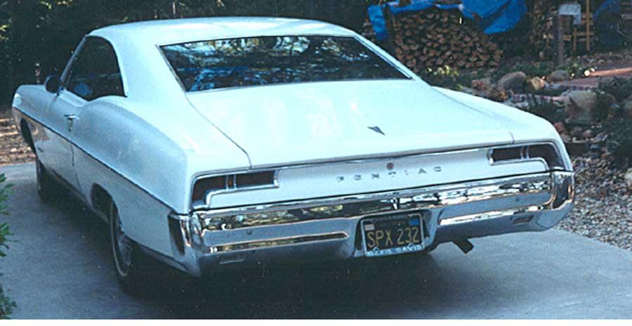 1964 Ford Galaxie back view - Bill & Ruth H.
