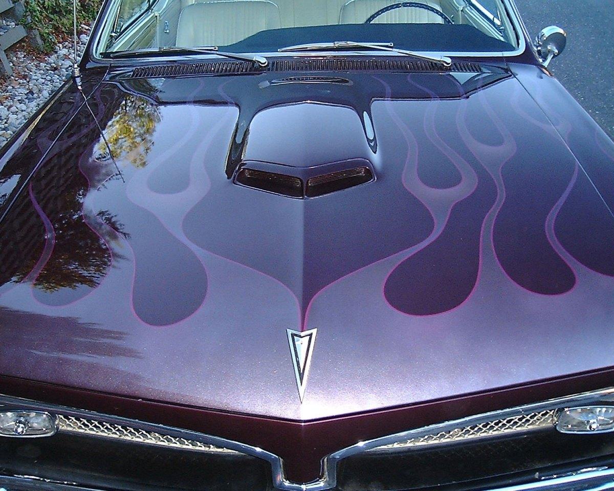 1967 Pontiac GTO hood - Dale L.