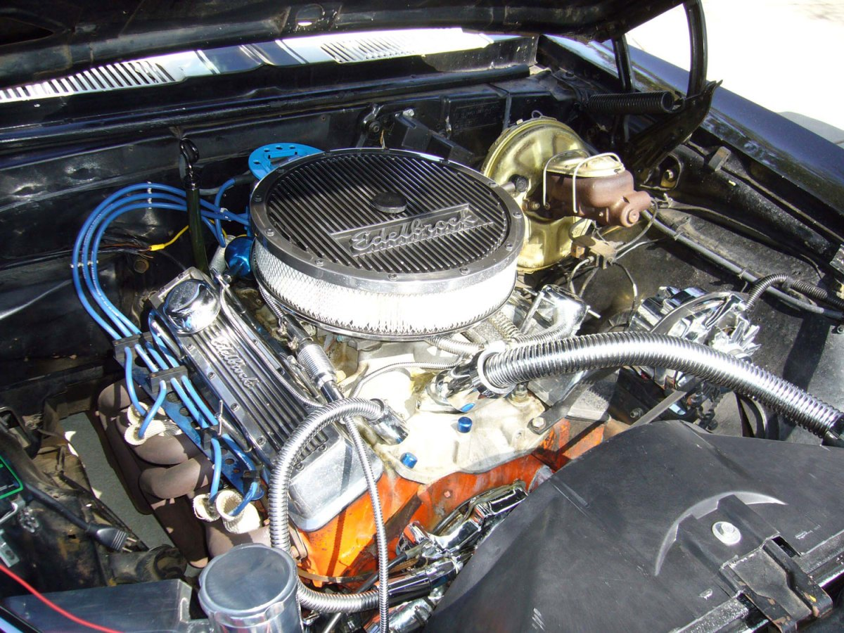 1968 Chevy Camaro-engine-Anthony R.